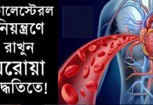 রক্তের কোলেস্টেরল নিয়ন্ত্রণের উপায়